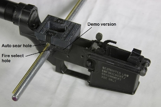 AR 10 / AR-15 Universal + Easy Jig modifier template Combo