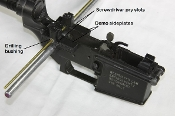 AR 10 / AR 15 UNIVERSAL conversion jig to M-16 select fire